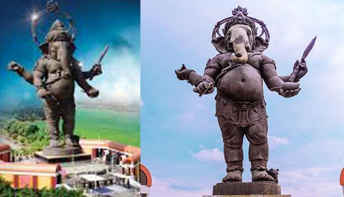 भारतात नाही तर या देशात आहे गणपतीची सगळ्यात उंच मूर्ती