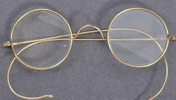 महात्मा गांधींच्या चष्म्याचा लिलाव, पाहा कोणी आणि किती रुपयांना विकत घेतला