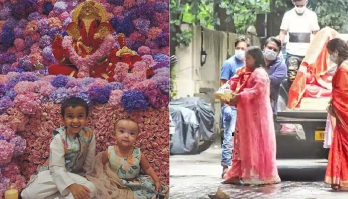 Ganeshotsav 2020 :  ...असा रंगला सलमानच्या घरचा गणेशोत्सव