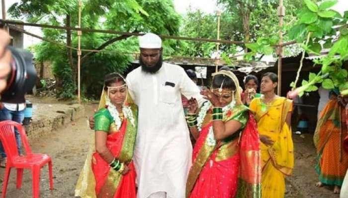 हेच नात्याचे खरे बंध! हिंदू विवाहसोहळ्यात मुस्लीम मामाकडून कन्यादान