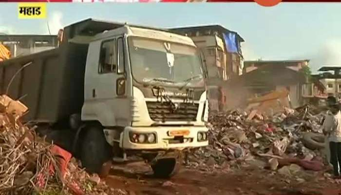 Raigad Mahad Rescue Operation Of Building Collapse Death Toll Rise To 13