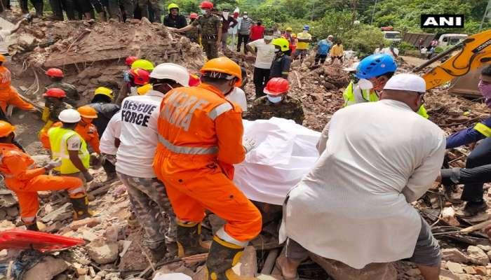 महाड इमारत दुर्घटना : ढिगाऱ्याखालून ११ मृतदेह बाहेर काढण्यात आले