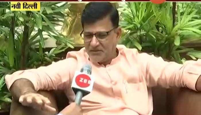 New Delhi Shiv Sangram Leader Vinayak Mete On Supreme Court Hearing On Maratha Reservation