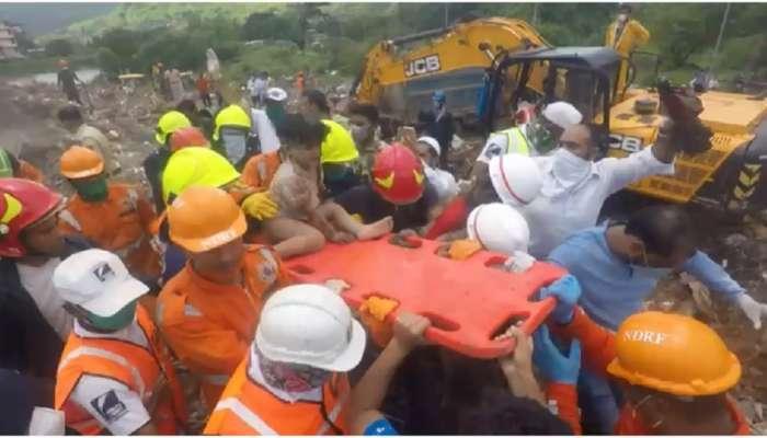 महाड इमारत दुर्घटना : एकनाथ शिंदेंनी घेतली बचावलेल्या दोन्ही मुलांच्या शिक्षणाची जबाबदारी