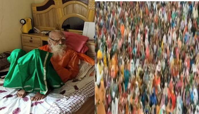 लातूरमध्ये महाराजांबद्दल अफवा पसरली आणि गर्दी लोटली, सोशल डिस्टन्सिंगचे तीन-तेरा