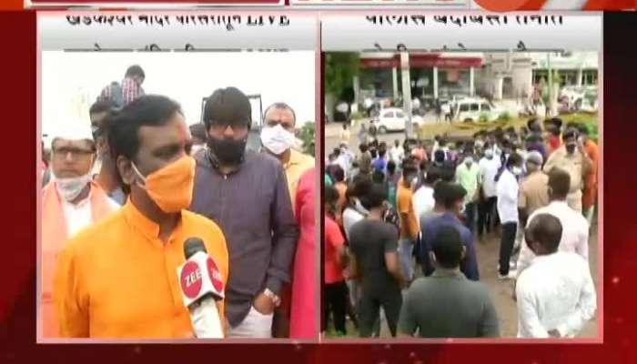 Aurangabad Shiv Sena Leader Ambadas Danve On MIM Leader Demand To Open Temples