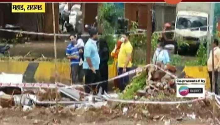 Raigad Mahad Tariq Garden Building Collapse Residents Having No Permanent Roof To Survive