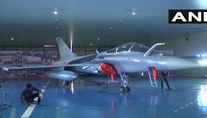 अत्याधुनिक राफेल विमाने वायुदलात दाखल, भारताचा चीनला इशारा