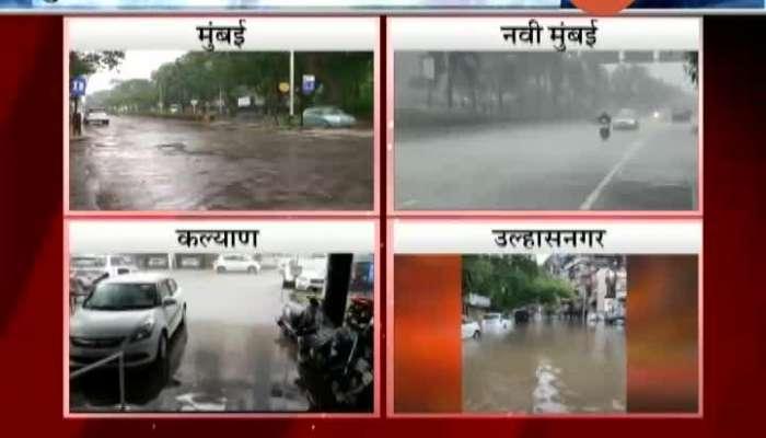 Rain In Mumbai,Navi Mumbai And Kalyan