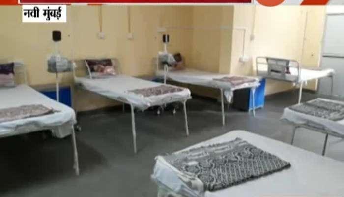 Navi Mumbai Scarcity Of Operators In Jumbo Covid Center