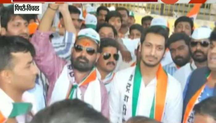 NCP Leader Parth Pawar Activate In Pimpri Chinchvad Politics