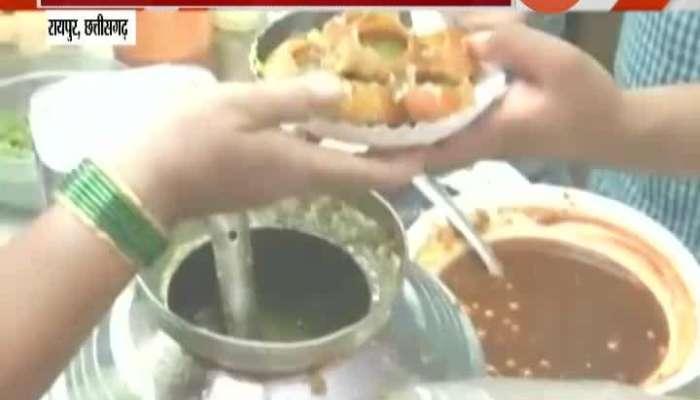 Chhatisgad,Raipur Corona Free Pani Puri