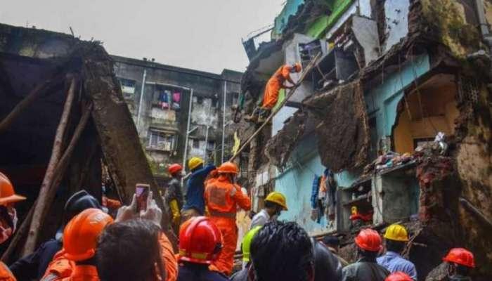 भिवंडी इमारत दुर्घटना : मृतांचा आकडा ३३ वर, आतापर्यंत २५ जणांना वाचवण्यात यश