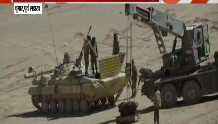 Indian Army Got Morden Artillery And Tanks On Ladakhs India China Border Controversy