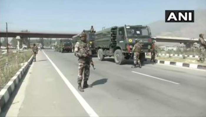 Jammu Kashmir : CRPF च्या ताफ्यावर दहशतवादी हल्ला; २ जवान शहीद