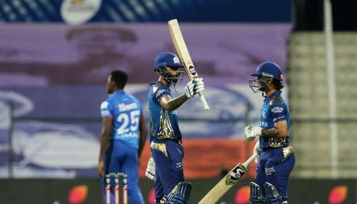 IPL 2020 : अखेरच्या षटकात मुंबईनं दिल्लीवर मारली बाजी