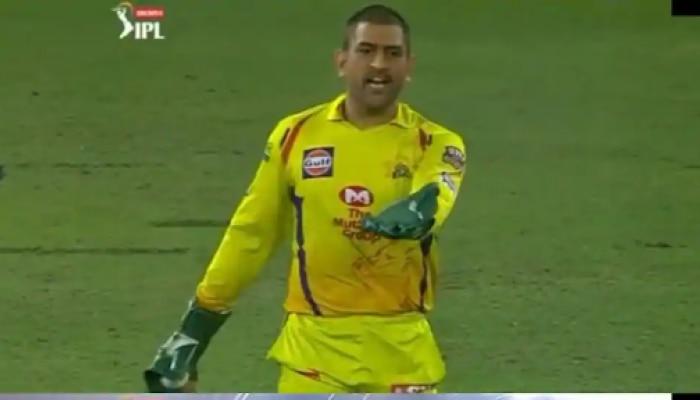 IPL 2020 : ...आणि धोनी पंचांवर भडकला