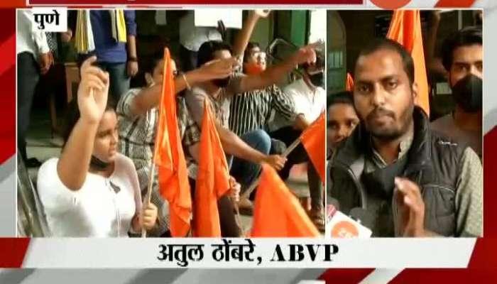 Pune ABVP Andolan