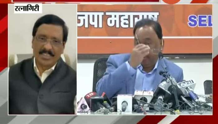 Shivsena MP Vinayak Raut Critics On Narayan Rane
