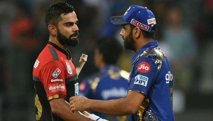IPL 2020 : 'प्ले ऑफ'मध्ये स्थान पक्कं करण्यासाठी भिडणार मुंबई- बंगळुरू