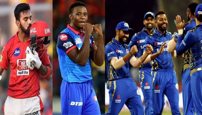 IPL 2020: राहुल-रबाडा टॉप वर, मुंबई इंडियन्स प्लेऑफसाठी क्वालिफाई