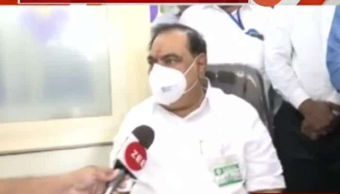 Nandurbar NCP Leader Eknath Khadse On BJP Activist Not Happy In Party And May Join NCP Party