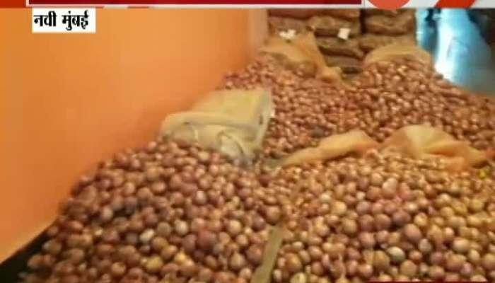 Navi Mumbai APMC Market Onion Wholesale Price Fall