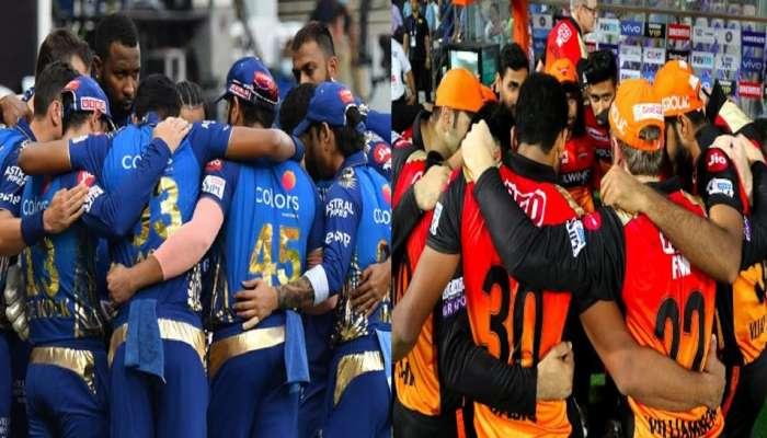 IPL 2020 : हैदराबादसाठी शेवटची संधी, मुंबईचं तगडं आव्हान