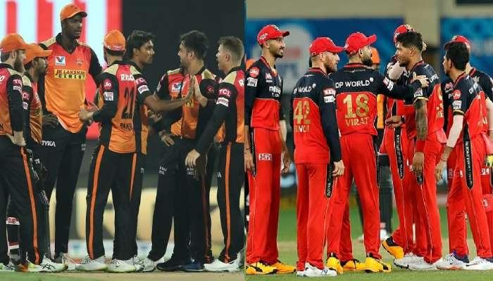 IPL 2020: बंगळुरु आणि हैदराबाद मध्ये आज 'कांटे की टक्कर'