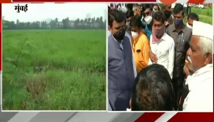 Congress Spokeperson Sachin Sawant Critics On Fadanvis Aarey Metro Carshed Issue BJP Leader Ram Kadam Reaction