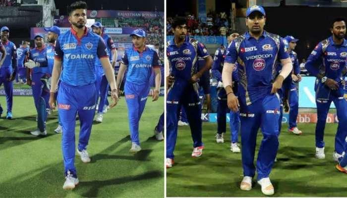 IPL 2020: मुंबई इंडियन्स आणि दिल्ली कॅपिटलमध्ये रंगणार फायनल