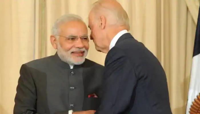 Joe Biden- पंतप्रधान मोदी यांच्यामध्ये दूरध्वनीवरुन संवाद; 'या' मुद्द्यांवर चर्चा