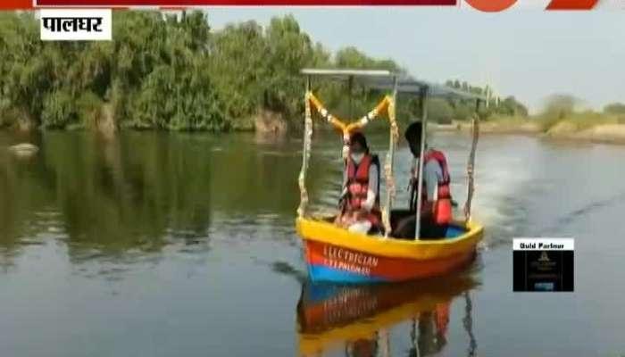 Palghar ITI Student Invent Solar Powered Boat