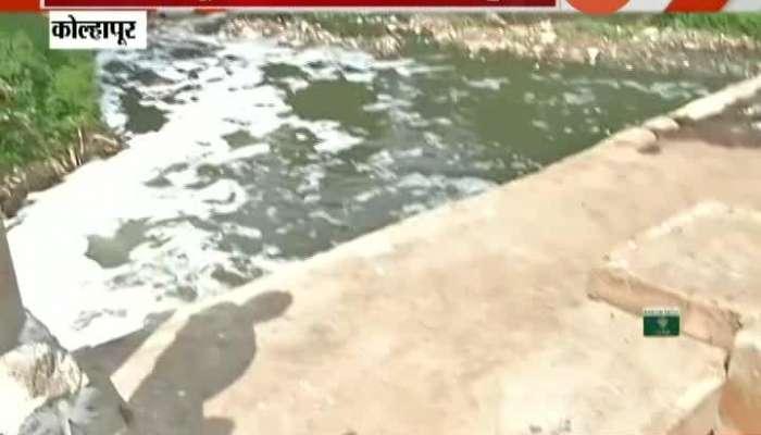 Kolhapur Panchganga River Water Pollution