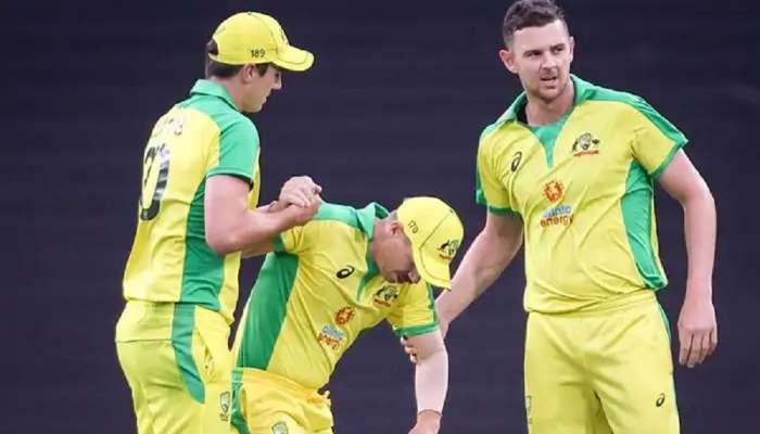 ऑस्ट्रेलियाला झटका, दुखापतीमुळे हा खेळाडू वनडे आणि टी-20 सिरीजमधून बाहेर