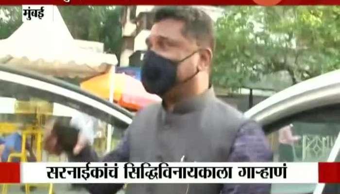 Mumbai Shivsena MLA Pratap Sarnaik On Arnab Goswami And Kangana Ranaut.