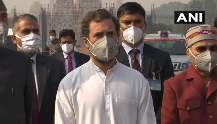 सरकारने विशेष अधिवेशन घेऊन कृषी कायदे मागे घ्यावे - राहुल गांधी