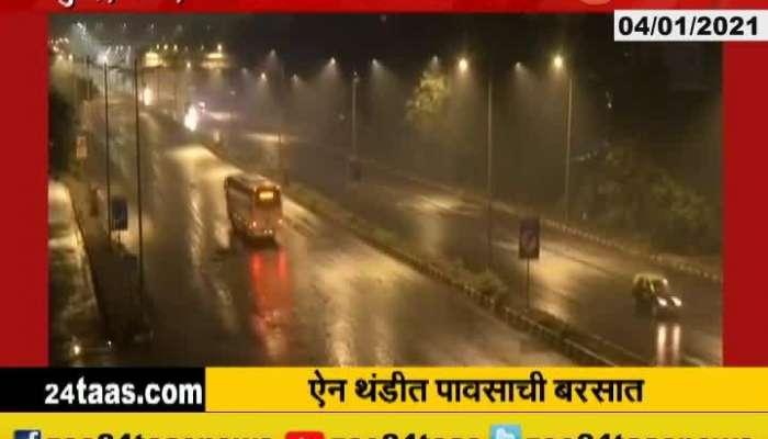Rain In Winter Season In Mumbai,Thane,Kalyan And Dombivali