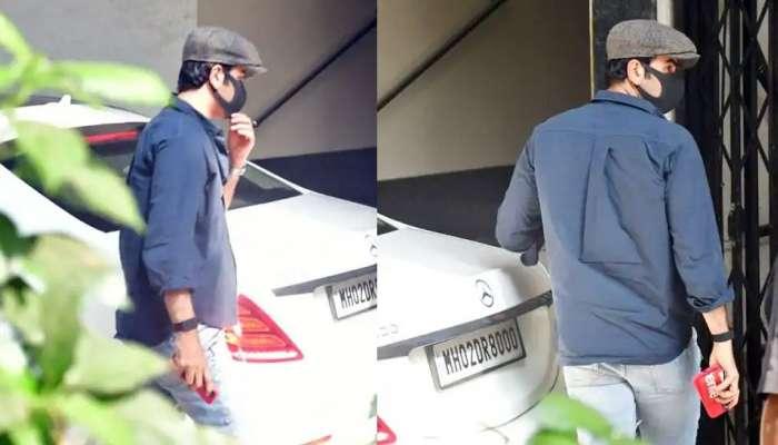 Ranbir Kapoor हॉस्पिटल बाहेर दिसला; चाहते चिंतेत