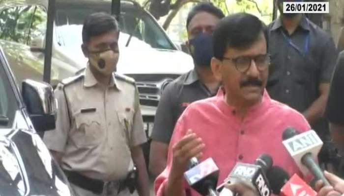 Shivsena MP Sanjay Raut Press Conference 26 January 2021