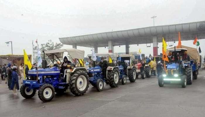 शेतकरी आंदोलन : देशव्यापी ट्रॅक्टर रॅलीचं दिल्लीत आयोजन