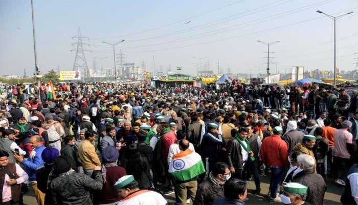 दिल्ली सीमेवर पुन्हा शेतकऱ्यांची मोठी गर्दी, सुरक्षा वाढवली