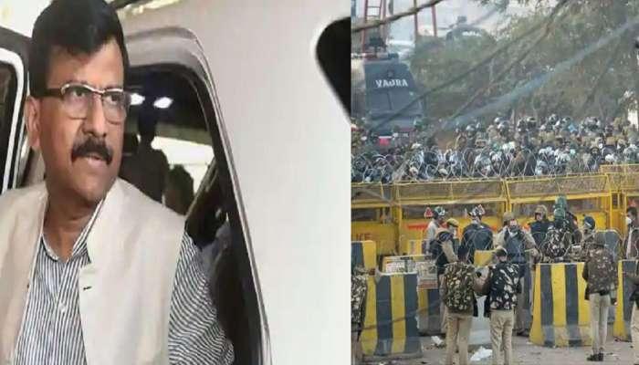 Farmers Protest : संजय राऊत सिंघू सीमेवर जाऊन आंदोलक शेतकऱ्यांना भेटणार