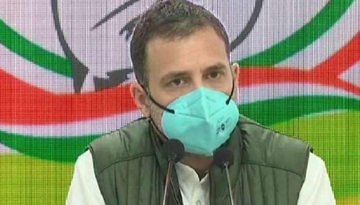 शेतकरी देशाचे शत्रू आहेत का? - राहुल गांधी