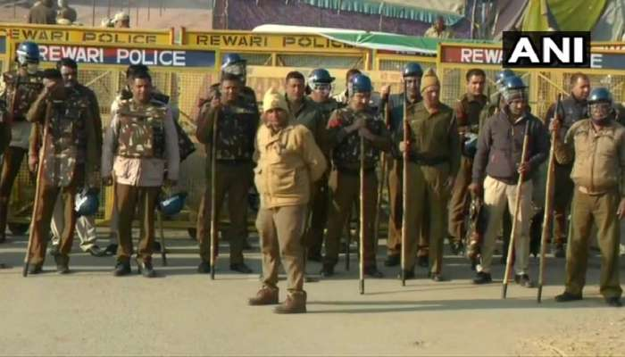 आज शेतकऱ्यांचं देशभरात 'चक्का जाम' आंदोलन, दिल्लीत मोठा फौजफाटा तैनात