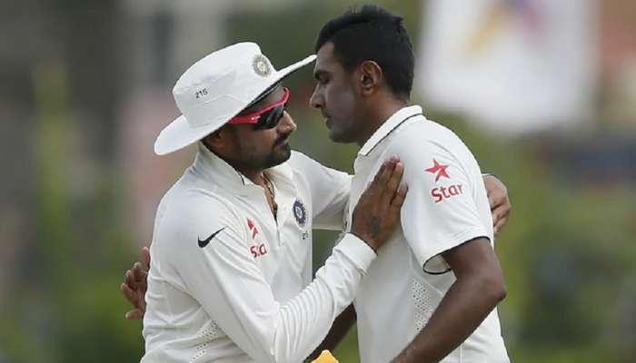 IND vs ENG : .. म्हणून Ravichandran Ashwin ने मागितली  Harbhajan Singhची माफी
