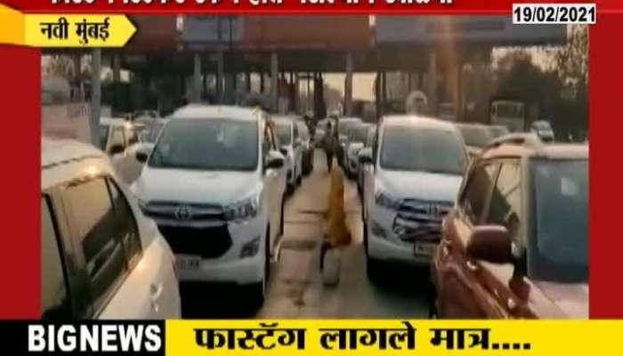 Navi Mumbai,Vashi Toll Naka Fast Tag Issue
