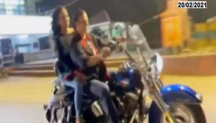 Mumbai Vivek Oberoi pay fine of rs 100 for not wearing helmet