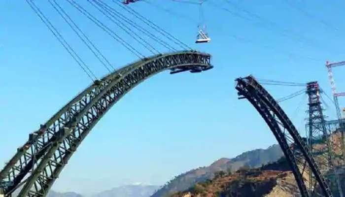 जगातला सर्वात उंच रेल्वे पूल भारतात, आयफेल टॉवरपेक्षाही उंच पूल