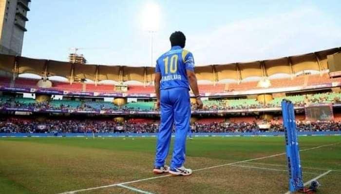 सचिन तेंडुलकरची क्रिकेट मैदानावर झलक, फील्डिंगचा व्हिडिओ व्हायरल